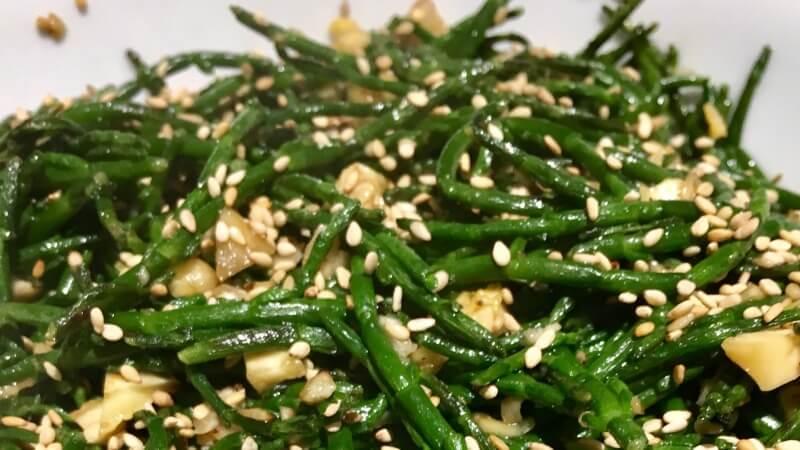 Cooked Salicornia - Sea Beans